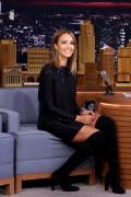 Jessica Alba - The Tonight Show Starring Jimmy Fallon in New York, September 14, 2015, pics+video