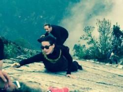 Katy Perry - Rock Climbing - Machu Picchu in Cusco, Peru - Sept 24 2015