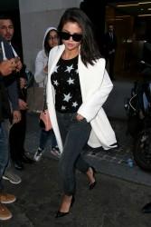 Selena Gomez - leaving the Louis Vuitton Store in Paris 9/27/15