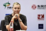 Maria Sharapova - Press Conference in Wuhan September 26-2015 x36