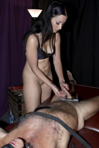 BestFemdom - Mistress January - Cock Bitten Captive