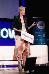 Charlize Theron - 2015 Social Good Summit - Day 2 in NYC 9/28/15