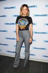 Sophia Bush - SiriusXM Studios in NYC 9/28/15