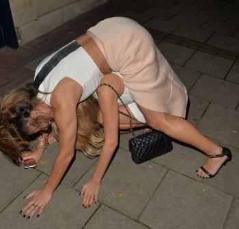 drunk upskirt Celebrity