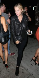 Ashley Benson - At The Nice Guy in West Hollywood 9/30/15