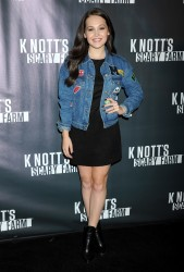 Kelli Berglund - Knott's Scary Farm Black Carpet in Buena Park 10/01/15