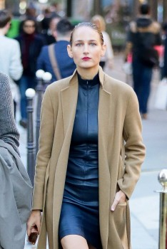 Leelee Sobieski - Strolling in Paris, October 2 2015