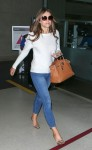 Elizabeth Hurley arrives at LAX Airport in Los Angeles - October 2-2015 x19
