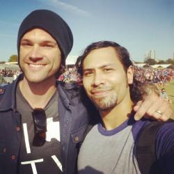 Джаред и Дженсен на музыкальном фестивале ACL 2015