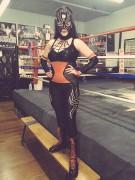Alyssa Diaz - 'Luchadora' wrestling costume from Ray Donovan x1