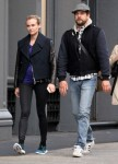 Diane Kruger and Joshua Jackson spotted out for a stroll in New York City - October 5-2015 x8