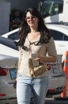 Lana Del Ray Stops for afternoon coffee in Los Angeles October 6-2015 x10