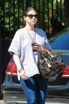 Michelle Trachtenberg Heads to lunch at Gracias Madre in West Hollywood October 7-2015 x15