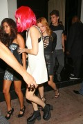 Bella Thorne - Leaving Beso Restaurant in Hollywood, Celebrating Her 18th Birthday - 8th October 15