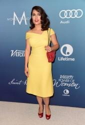 Salma Hayek - Variety's Power Of Women Luncheon 10/09/15