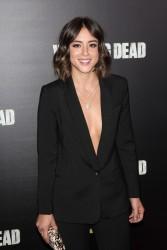 Chloe Bennet - The Walking Dead Season 6 Premiere 10/9/15