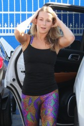 Alexa Vega - at the DWTS Studio 10/10/15