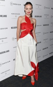 """Olivia Wilde attend """"Meadowland"""" New York Premiere at Sunshine Landmark in New York City on October 11, 2015"""