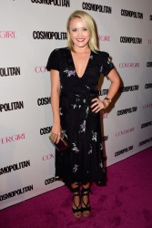 Emily Osment - Cosmopolitan's 50th Birthday Celebration in West Hollywood 10/12/15