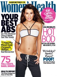 Lea Michele - Women's Health Magazine November 2015