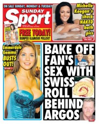 Link to Lucy Pinder – Sunday Sport 04 October 2015 (10-2015) UK