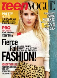 Emma Roberts - Teen Vogue November 2015 +more adds