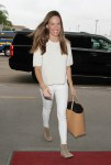 Hilary Swank arrives at LAX Airport in Los Angeles - October 16-2015 x5