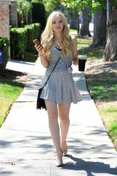 Dove Cameron - out in Beverly Hills 10/14/15