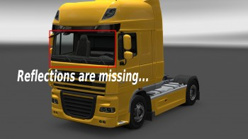 DAF XF 105 glass material problem?! [FIXED] - SCS Software