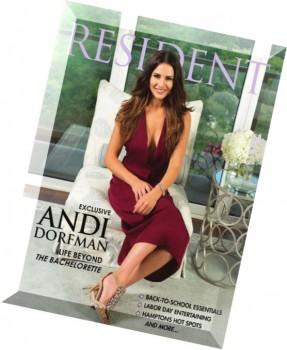 Resident Magazine - August 2015.