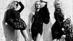 Diane Kruger, Lena Gercke, Sylvie Meis (Wallpaper) 3x