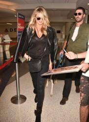 Kate Upton - At LAX Airport 10/27/15