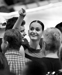 Katy Perry - Attending Madonna Concert In California - October 27 2015
