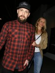 Cameron Diaz and Benji Madden leave a salon October 28-2015 x34