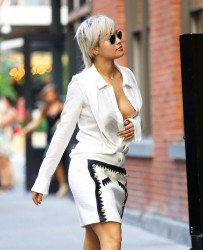 Rita Ora - Out & About in London 10/28/15