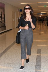 Bailee Madison - At LAX Airport 10/30/15