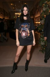 Kendall Jenner - Saks Fifth Ave Presents Del Toro Chandler Parsons Event in Beverly Hills 10/30/15