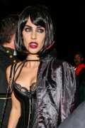 Jessica Lowndes - Arriving at Casamigos Tequila 2015 Halloween Party in LA 10/30/15