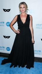 Brittany Snow - Unicef Black & White Masquerade Ball in Los Angeles 10/30/15