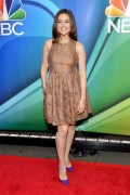 Megan Boone - The 2015 NBC Upfront Presentation Red Carpet Event (May 11, 2015)