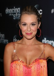 Alexa Vega - Dancing with the Stars photo op at CBS Studios 11/02//15