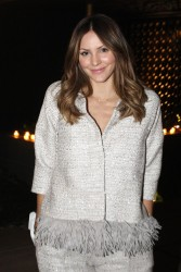 Katharine McPhee - Lela Rose LA Dinner Party 11/4/15