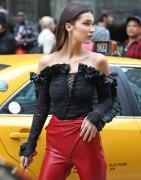 Bella Hadid-     Photo shoot set NYC Nov 5th 2015.