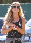Denise Richards wearing a black tank top while out in Malibu - November 6-2015 x31
