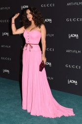 Salma Hayek - LACMA 2015 Art+Film Gala Honoring James Turrell And Alejandro G Inarritu 11/7/15
