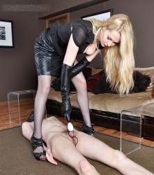 FemmeFataleFilms - Mistress Eleise de Lacy - Post-Orgasm Stress in Order part 1-4 update