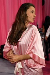 Alessandra Ambrosio - 2015 Victoria's Secret Fashion Show in NYC 11/10/15