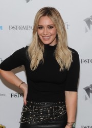Hilary Duff - The Fast Company Innovation Festival Inside TV Land's Show 'Younger' in NYC 11/10/15