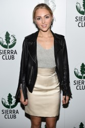 AnnaSophia Robb - Sierra Club's Act in Paris, A Night of Comedy and Climate Action event in NYC 11/11/15