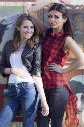 Victoria Justice - Teen Vogue Besties Shoot -